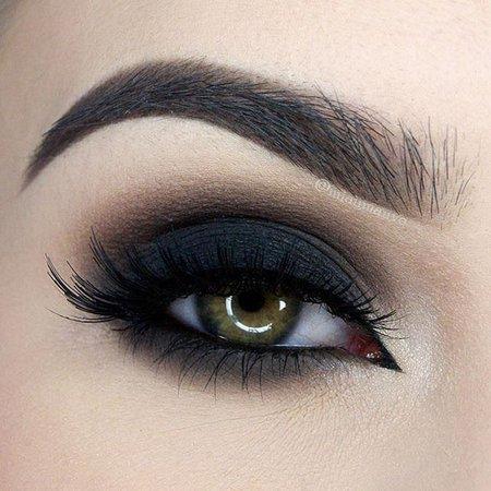 black smokey eye - Google Search