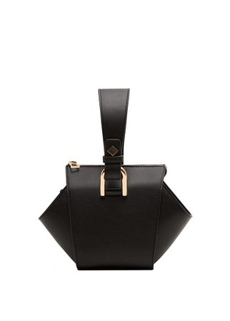 MANGO Geometric mini bag