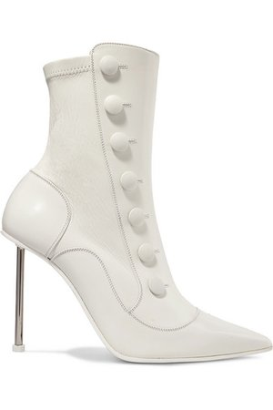 Alexander McQueen   Embellished leather ankle boots   NET-A-PORTER.COM