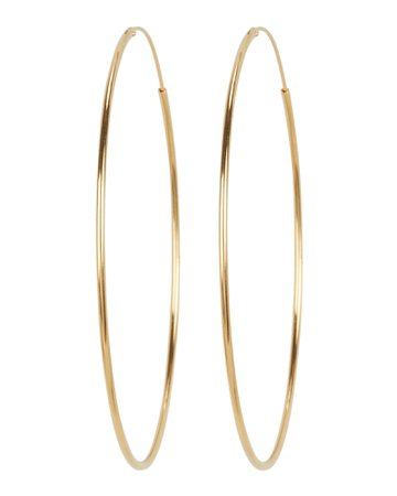 Argento Vivo Endless Hoop Earrings | INTERMIX®