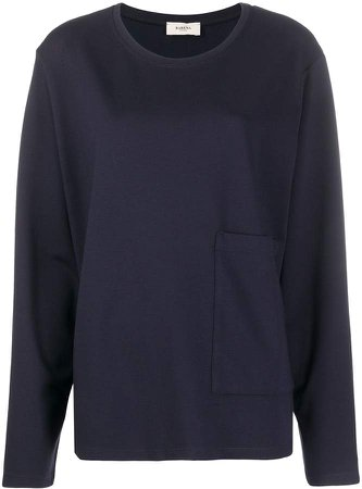 Domitilla round-neck sweatshirt