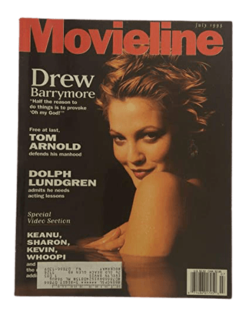 '90s Drew Barrymore Magazine (Movieline), circa 1995
