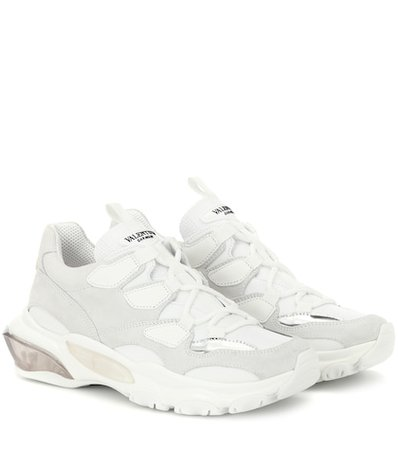 Valentino Garavani Bounce leather sneakers