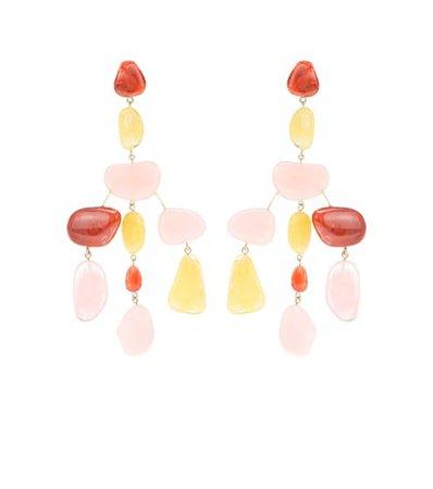Sloane acrylic earrings