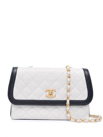 Bolsa de hombro con capitonado de rombos 1990 Chanel Pre-Owned - Compra online - Envío express, devolución gratuita y pago seguro
