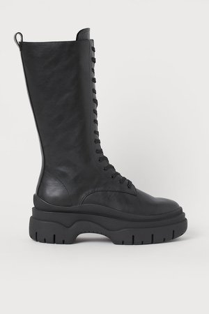 High Profile Boots - Black