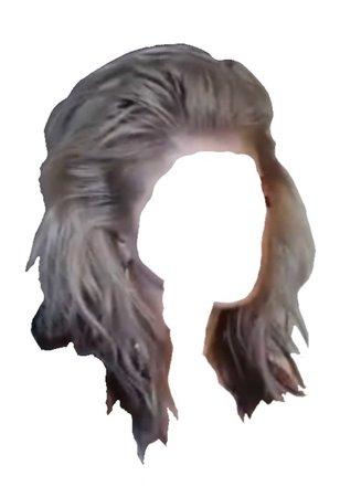 black blonde hair