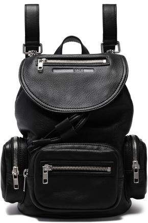 Mini Textured Leather Backpack