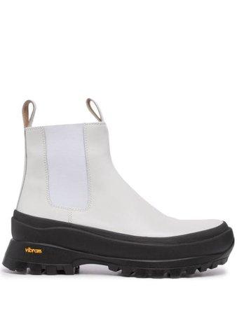 Jil Sander Vibram-sole ankle boots - FARFETCH