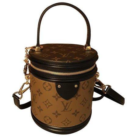 LOUIS VUITTON Cannes leather crossbody bag