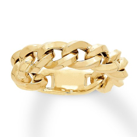 gold chain rings - Google Search