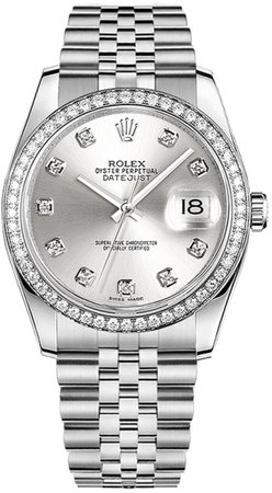silver Rolex