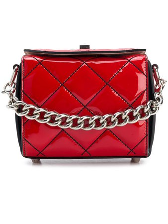 $1,890 Alexander McQueen Box Bag 16 - Buy Online - Fast Delivery, Price, Photo