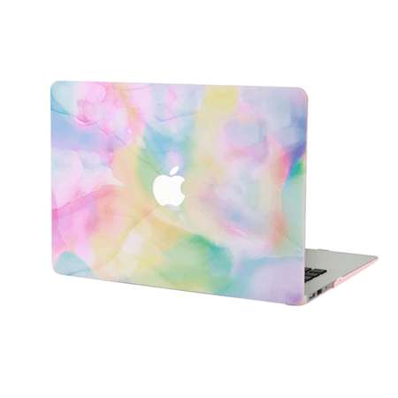 Pastel Tie Dye MacBook
