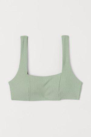 Padded Bikini Top - Green