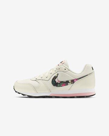 Nike MD Runner 2 Vintage Floral Older Kids' Shoe. Nike GB