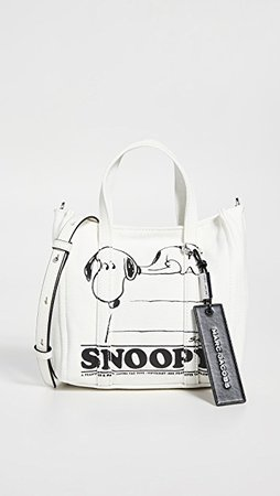 The Marc Jacobs Peanuts x Marc Jacobs The Mini Tag Tote | SHOPBOP