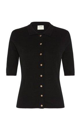 Chieko Cotton-Jersey Polo Shirt by St. Agni | Moda Operandi