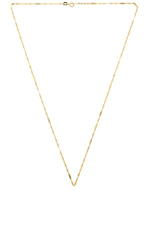 Twisted Singapore Chain Necklace