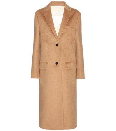 Rockstud Untitled wool coat