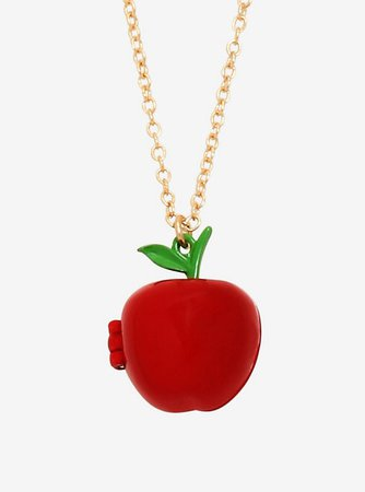 Disney Princess Snow White Apple Locket Necklace