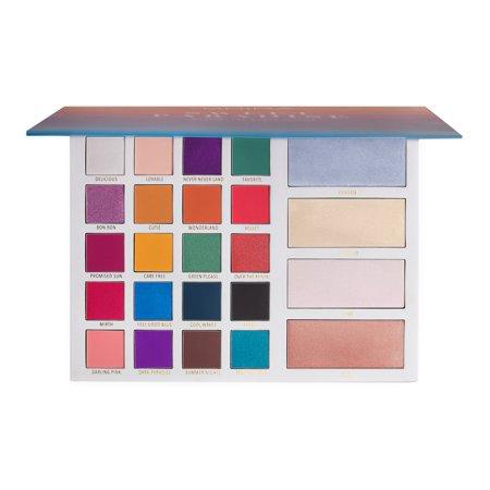 Moira Cosmetics Sweet Paradise Eyeshadow & Face Palette - Walmart.com