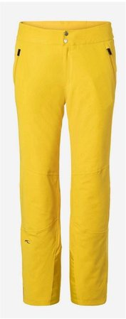 men's yellow pants