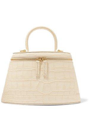 BY FAR   Annie croc-effect leather shoulder bag   NET-A-PORTER.COM