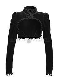 black shrug jacket