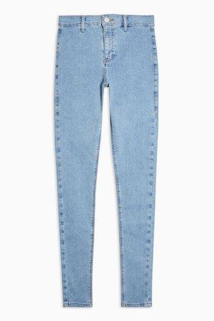 Bleach Wash Joni Skinny Jeans | Topshop