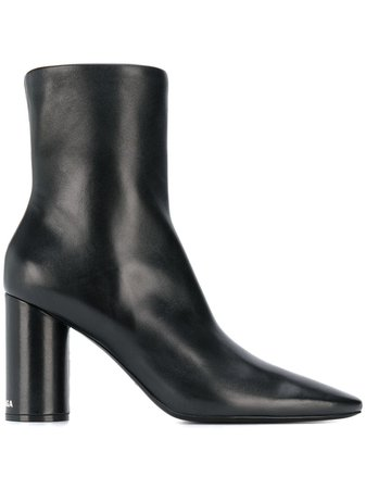 Balenciaga Round Ankle Boots - Farfetch