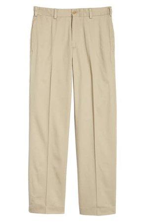 Bills Khakis M2 Classic Fit Vintage Twill Flat Front Pants | Nordstrom