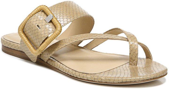 Salva Snake Embossed Sandal