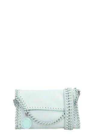 Stella McCartney Mint Faux Leather Candy Falabella Bag