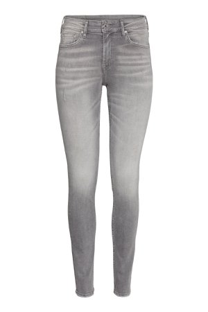 Skinny Regular Ankle Jeans | Gray denim | WOMEN | H&M US
