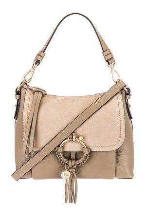 See By Chloe Joan Shoulder Bag in Motty Grey | REVOLVE