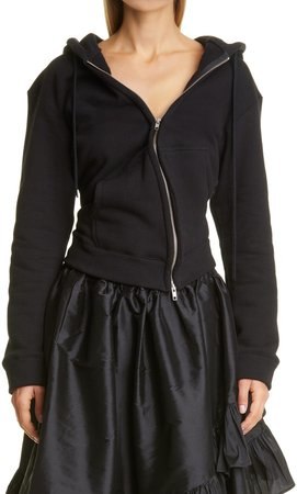 Vaquera Twisted Cotton Hoodie