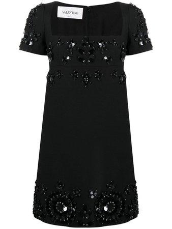 Valentino sequin-embellished mini dress