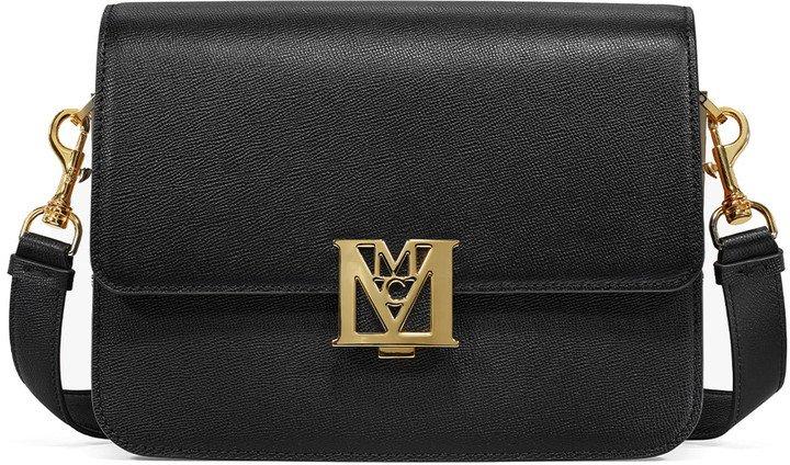 Mena Visetos Water Resistant Leather Crossbody Bag