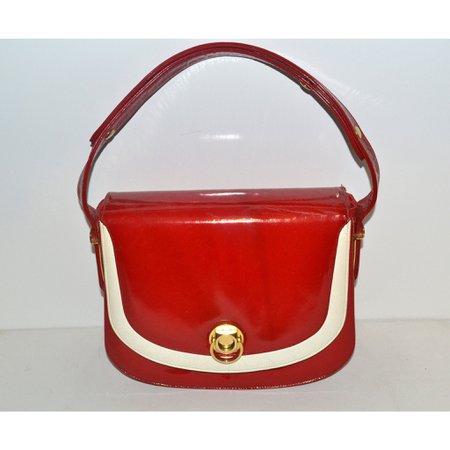 vintage red purse