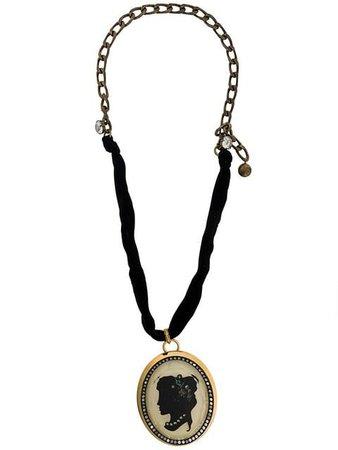 Lanvin Cameo Pendant Necklace - Farfetch