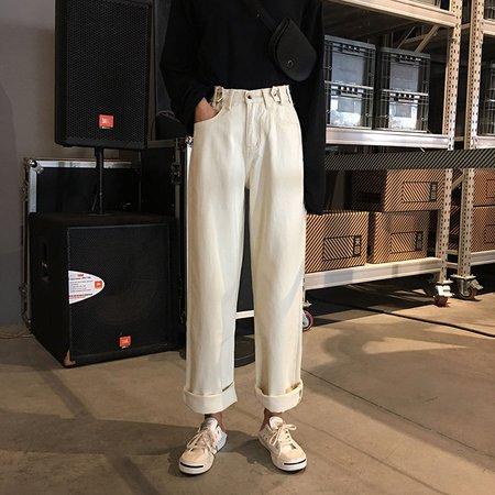 Whoosh High-Waist Wide-Leg Jeans | YesStyle