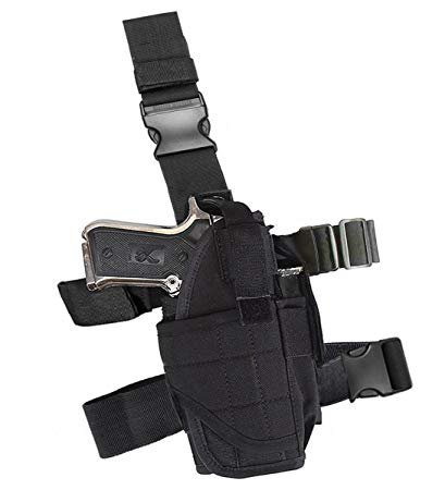 thigh holster with gun