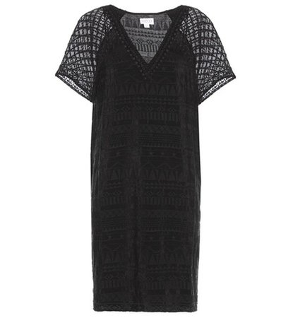 Halo embroidered dress