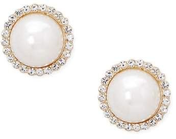 Forever 21 Oversized Faux Pearl Stud Earrings