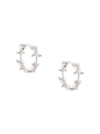 Eshvi Wire Hoop Earrings - Farfetch