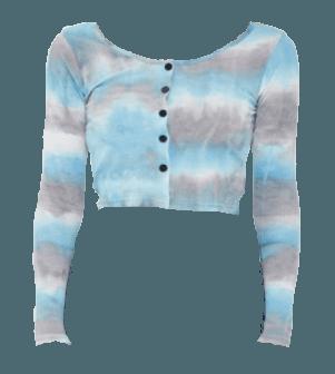 ICIMI - Tie-dye Cardigan