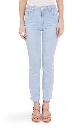 PAIGE Cindy High Waist Straight Leg Jeans (Ryman) | Nordstrom