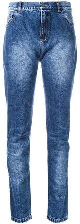 stonewashed slim jeans