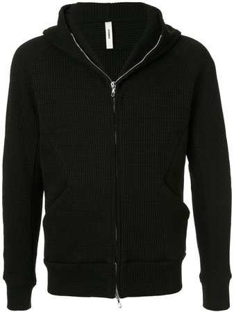 Attachment Zip Front Hoodie